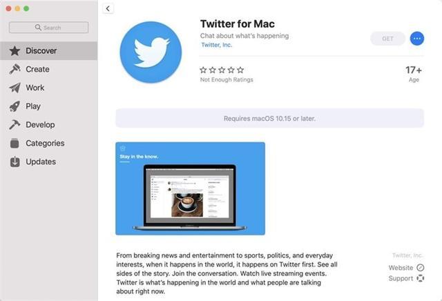 macOS版新款Twitter 8.0.3发布